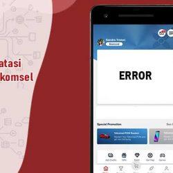 Aplikasi MyTelkomsel Error