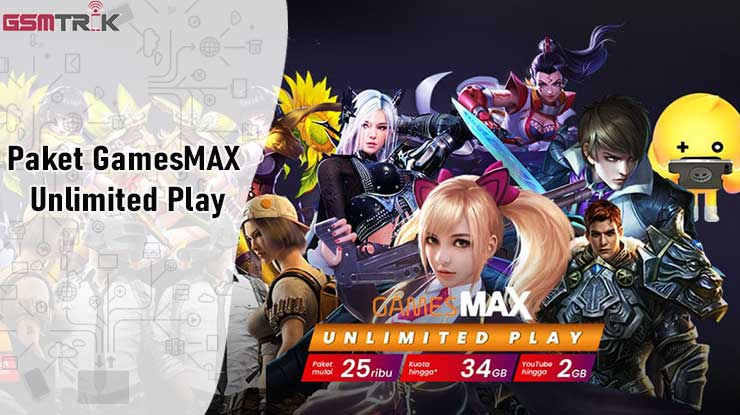Paket GamesMAX Unlimited Play