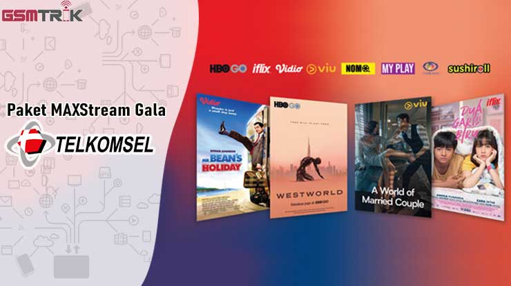Paket MAXstream Gala Telkomsel