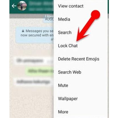 Cara Lock Chat GB WhatsApp