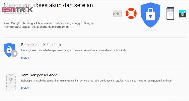 Cara Melacak HP Dengan Login Gmail