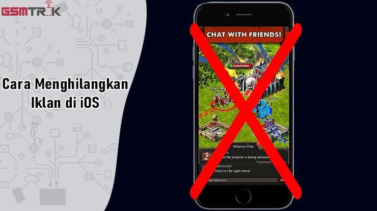 Cara Menghilangkan Iklan di iOS
