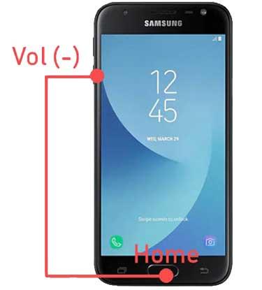Cara SS HP Samsung Kombinasi Tombol Home