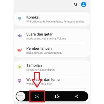 Cara Screenshot Panjang Samsung A21s