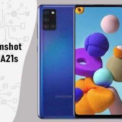 Cara Screenshot Samsung A21s