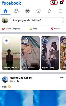 Cari Akun Facebook Yang Akan Diblokir