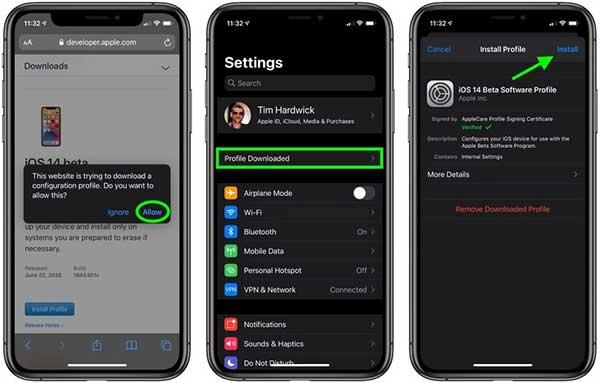 iOS 14 Beta terbaru