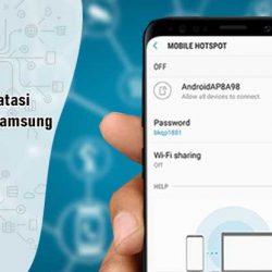 Cara Membatasi Hotspot di HP Samsung