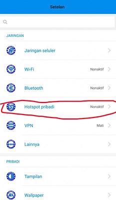 Cara Membatasi Hotspot di Xiaomi