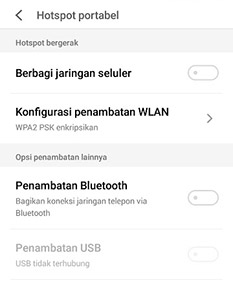 Cara Menyembunyikan Hotspot Xiaomi Tanpa Aplikasi