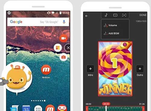 Cara Rekam Layar Xiaomi Suara Internal Mobizen