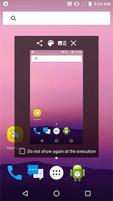Memakai Aplikasi Touchshot
