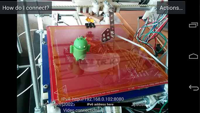 Membuat HP Android Menjadi Webcam Lewat IP Webcam