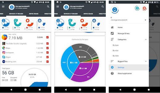 1 Kamu bisa gunakan aplikasi Storage Analyzer Disk Usage dimana