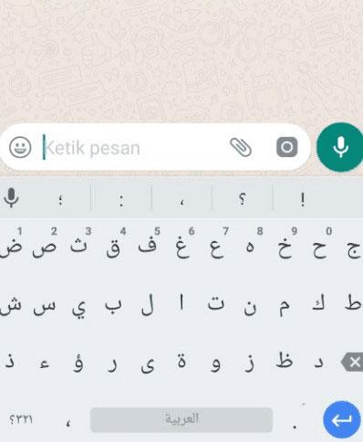 6. Kembali ke Chat Whatsapp