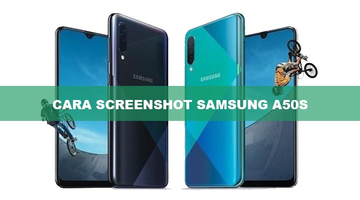 Cara Screenshot Samsung A50S