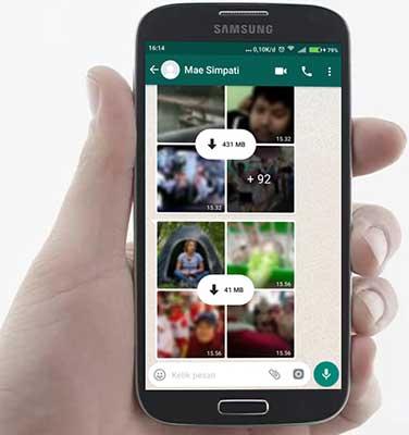 Hindari Mengirim Banyak Foto WhatsApp Sekaligus