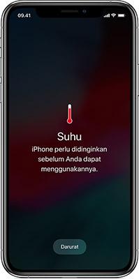 Jangan Simpan iPhone Pada Suhu Ekstrim