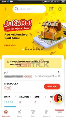 Buka Aplikasi MyIM3