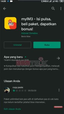 Download dan Instal Aplikasi MyIM3