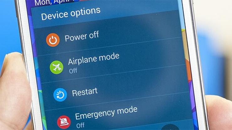 Restart HP Android