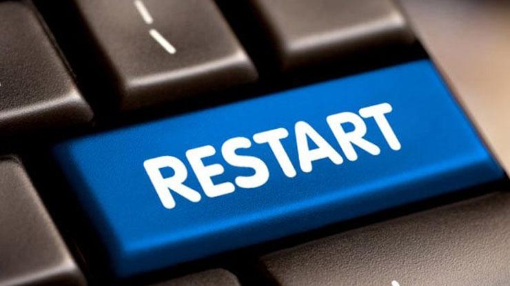 Restart HP atau Modem