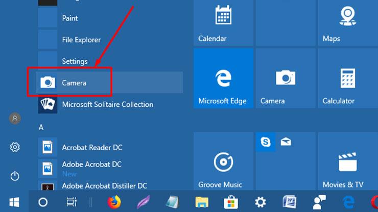 Cara Menghidupkan Kamera Laptop Windows 10