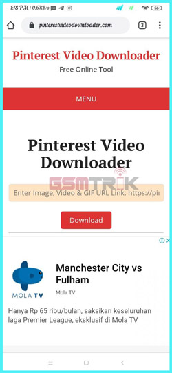 1 Buka Piterest Video Downloader