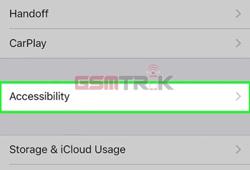 3 Pilih Menu Accessibility
