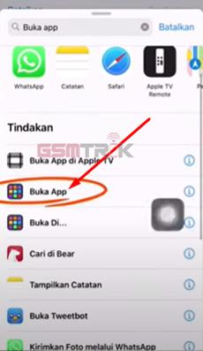 5 PIlih Menu Buka App