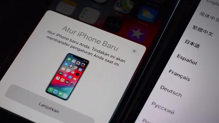 Atur iPhone Baru