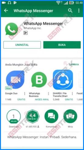 Buka Aplikasi WhatsApp Pribadi