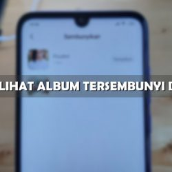 Cara Melihat Album Tersembunyi di Xiaomi