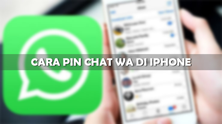 Cara Pin Chat WA di iPhone