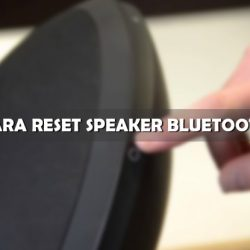 Cara Reset Speaker Bluetooth ke Setelan Pabrik
