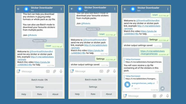 Download Stiker Telegram