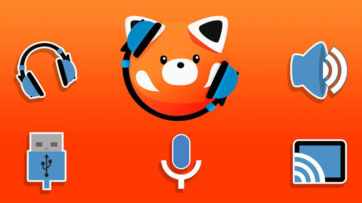 Gunakan Aplikasi LesserAudioSwitch