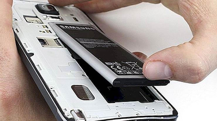 Lepas Baterai HP Samsung