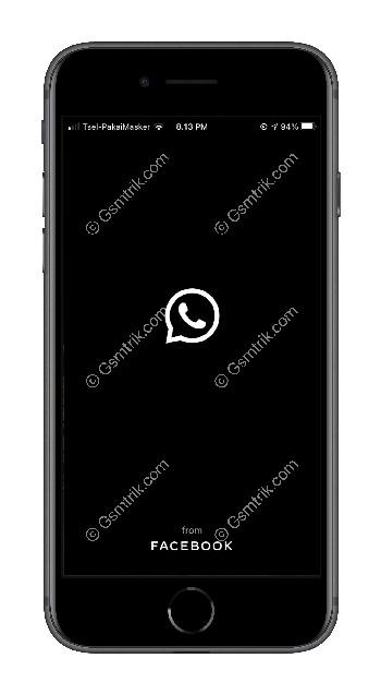 1 Buka Aplikasi WhatsApp