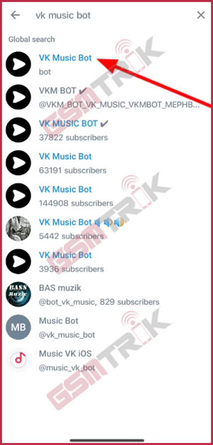 3 Cari VK Bot Music