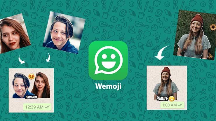 Aplikasi Pembuat Stiker WA Wemoji