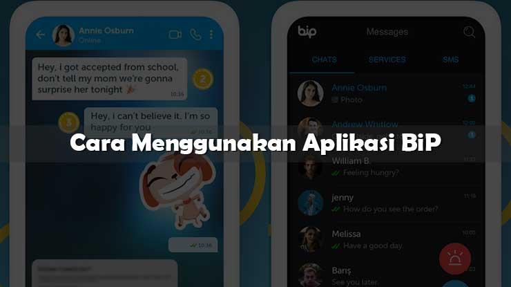 Cara Menggunakan Aplikasi BiP