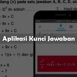 Aplikasi Kunci Jawaban