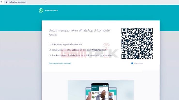 Buka Situs WhatsApp Web