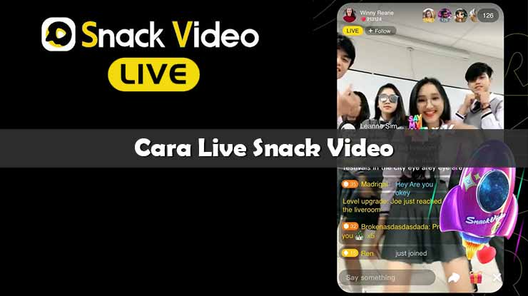 Cara Live Snack Video