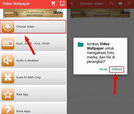 Cara Membuat Video Jadi Wallpaper Live