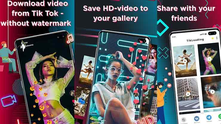 Pengunduh Video untuk TikTok tanpa Watermark