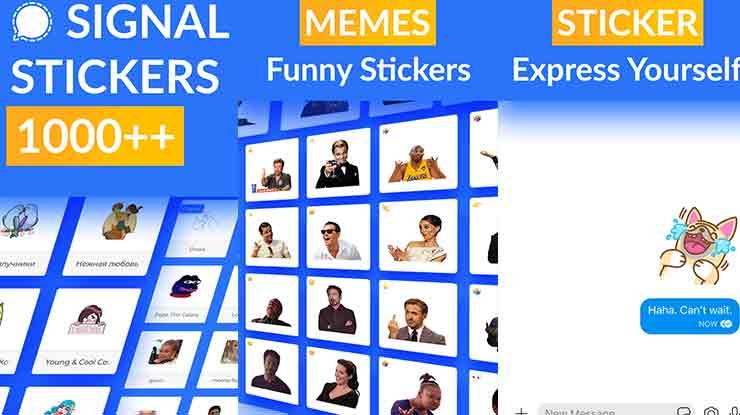 Signal Sticker Pack