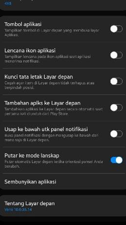 aplikasi di HP Samsung