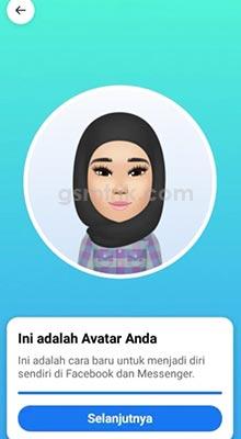 buat Avatar di Facebook